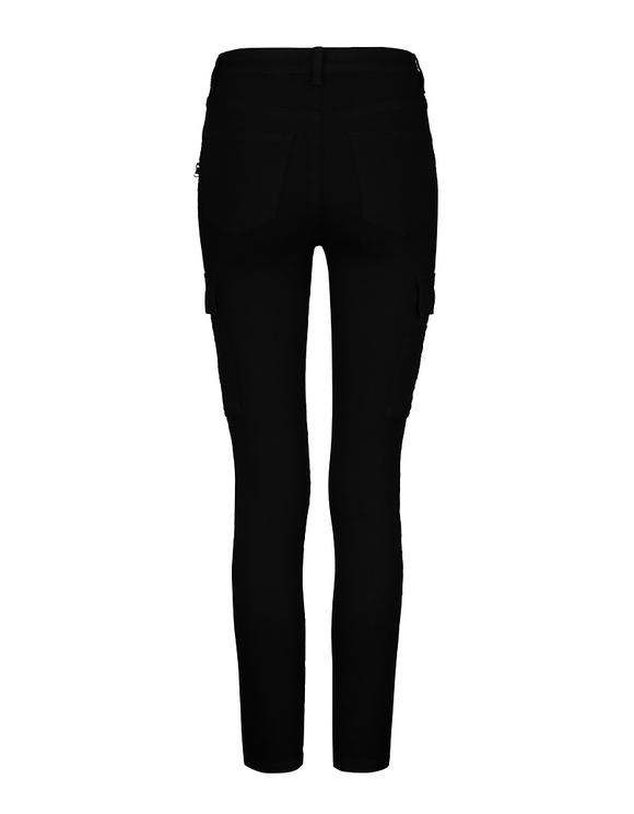 Pantalon Cargo Skinny Taille Basse