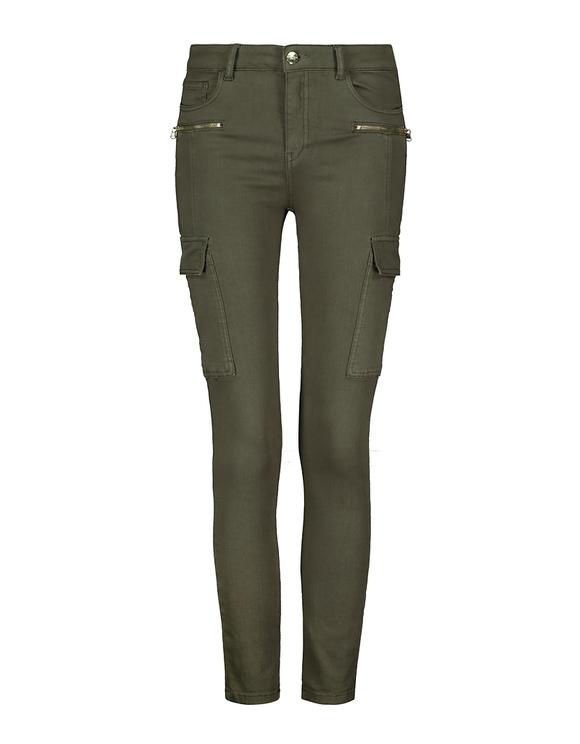 Pantalon Cargo Skinny Kaki