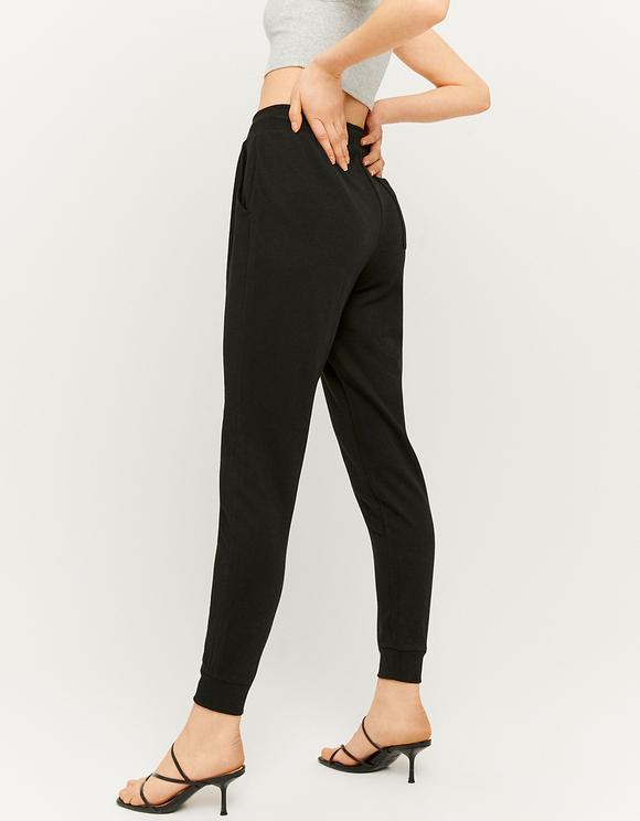 Jogging Noir Taille Haute