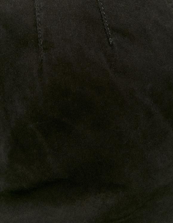 Pantalon Cargo Taille Haute Noir