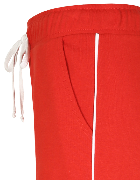 Red Side Stripe Joggers