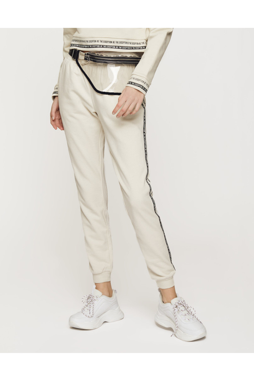 Off White Side Stripe Joggers
