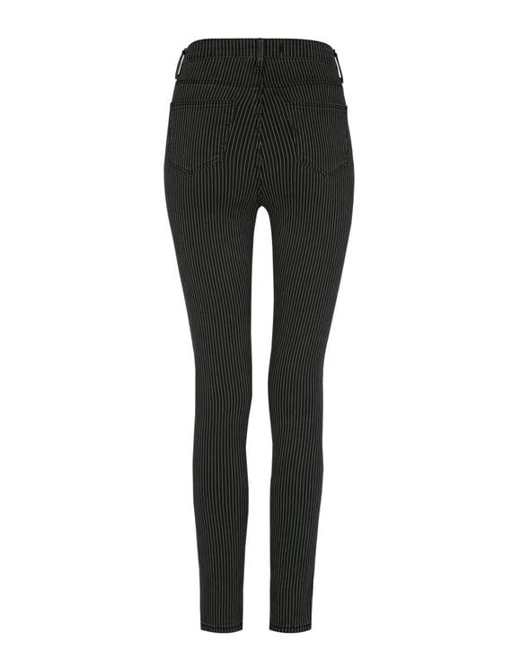 Pantaloni Skinny a Righe