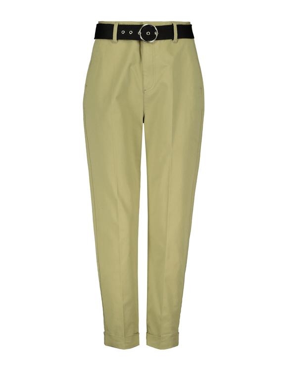 Khaki Chino Trousers