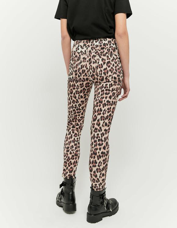 Pantaloni in Stampa Leopardata