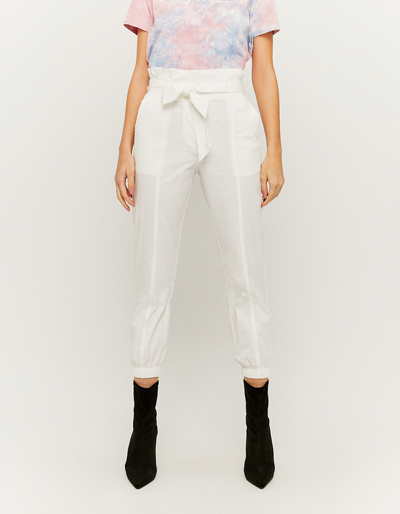 White Carrot Trousers