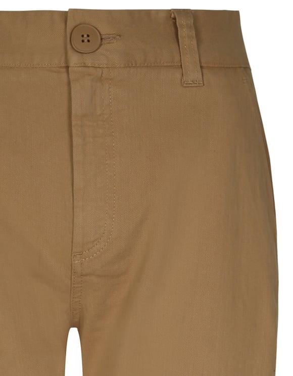 Beige Cargo Hosen