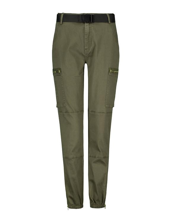 Pantalon Kaki Cargo