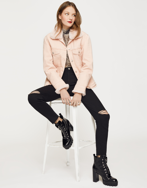 Mom Slim High Waist Jeans