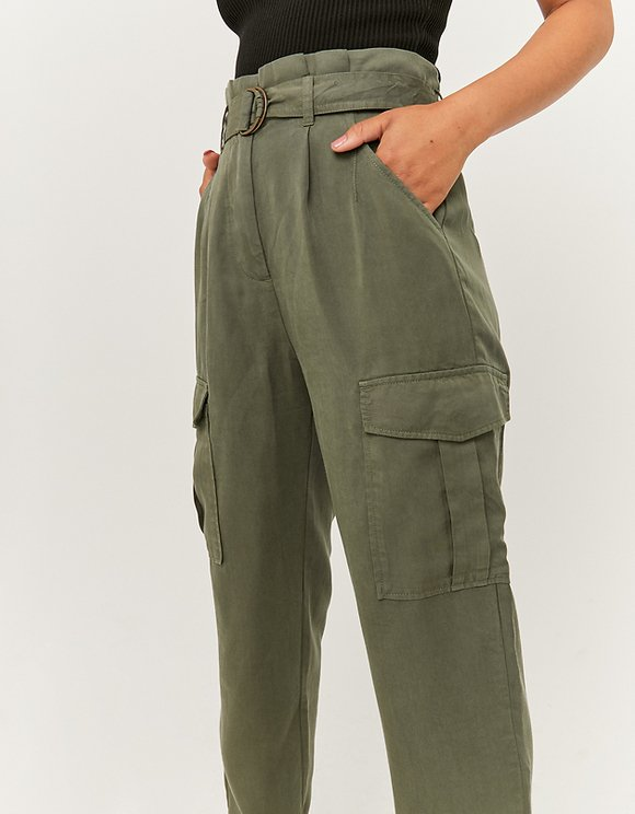 Paperbag Lightweight Trousers
