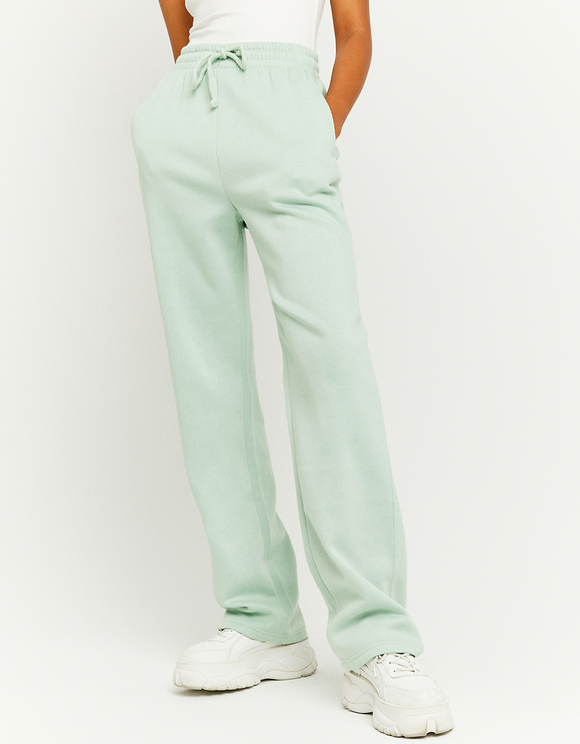 Green Loose Fit Joggers