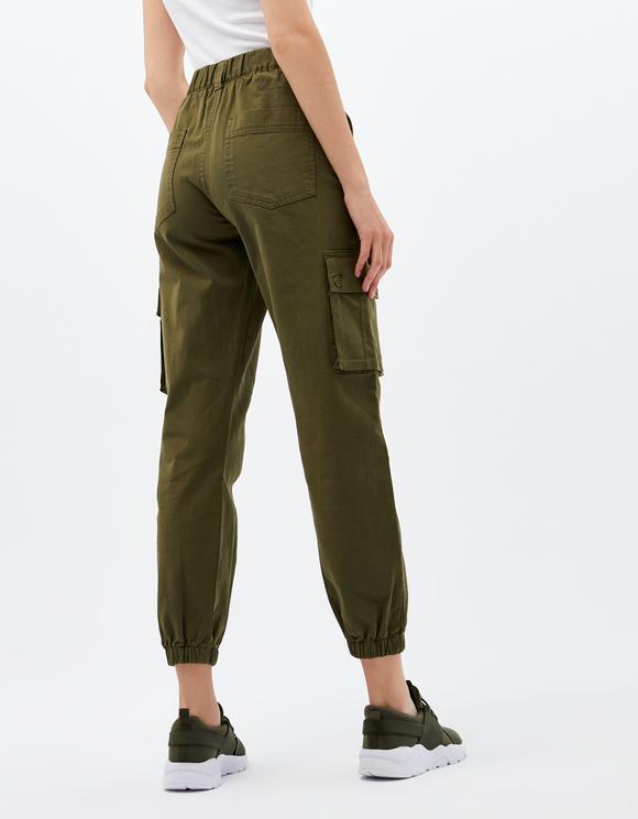 Khaki Cargo Trousers | TALLY WEiJL