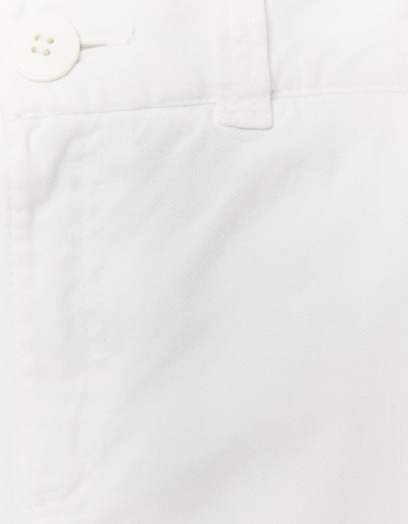 White Cargo Trousers