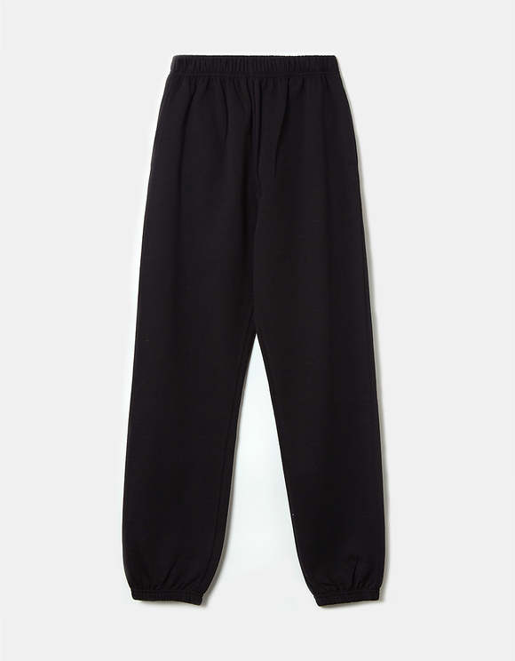 Pantaloni da Jogging Oversize a Vita Alta