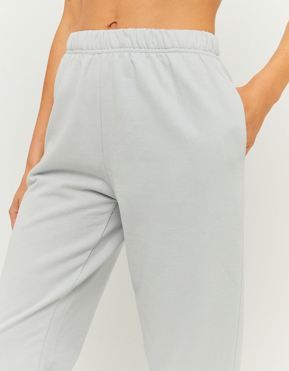 Pantaloni Jogging a Vita Alta