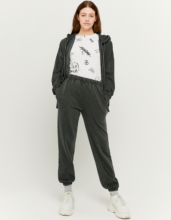 Jogging Oversize Taille Haute