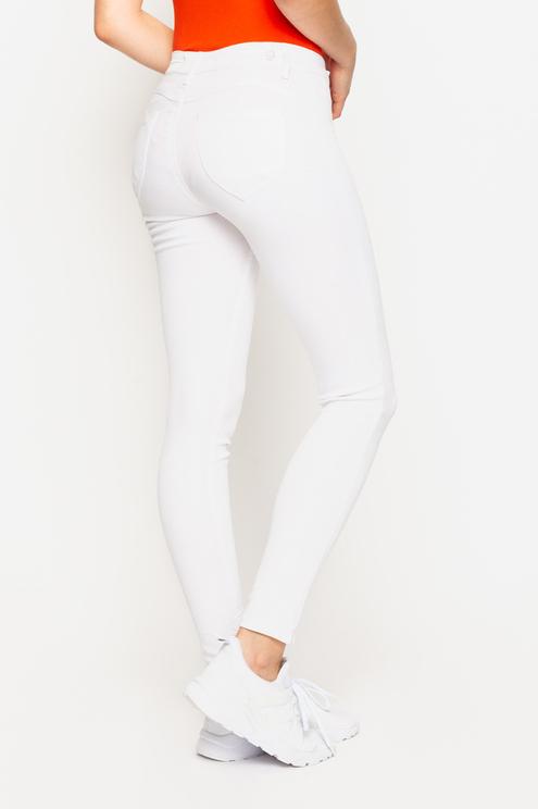 Jean Skinny Blanc Power Stretch