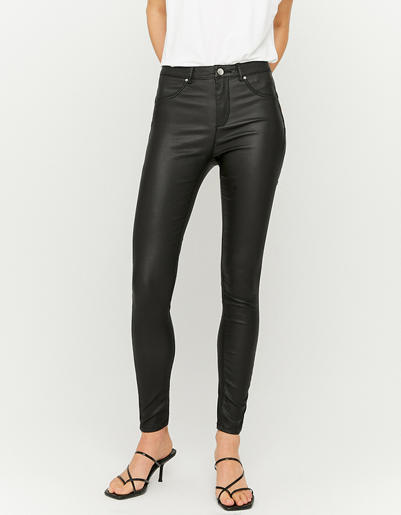 Medium Waist Push up Skinny Trousers