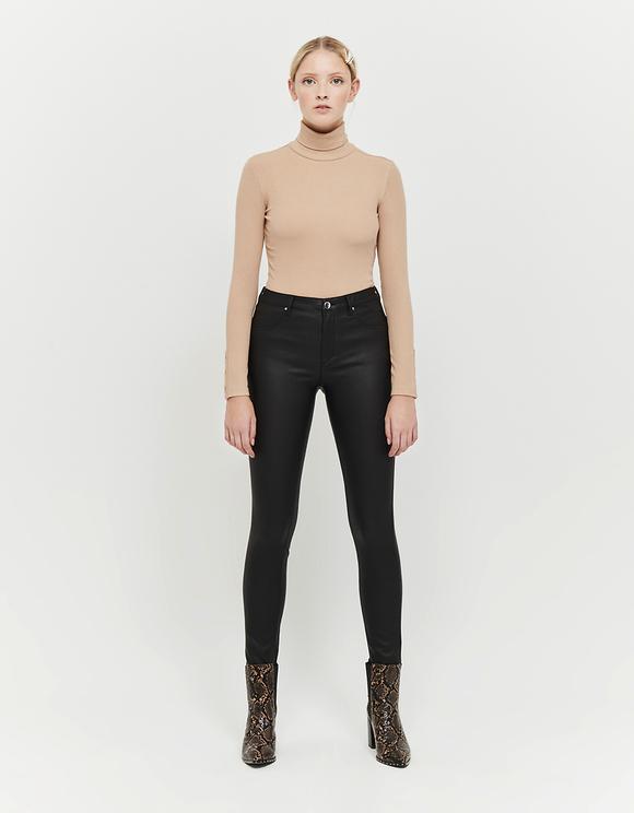 Pantalon Push Up Taille Mi-Haute