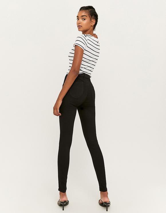 High Waist Push Up Skinny Trousers