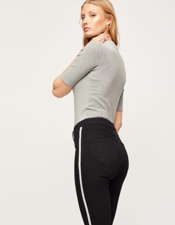 Black Push Up Trousers