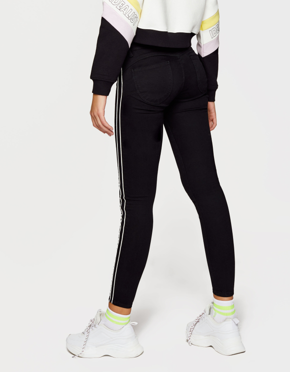 Push-Up Medium Waist Trousers