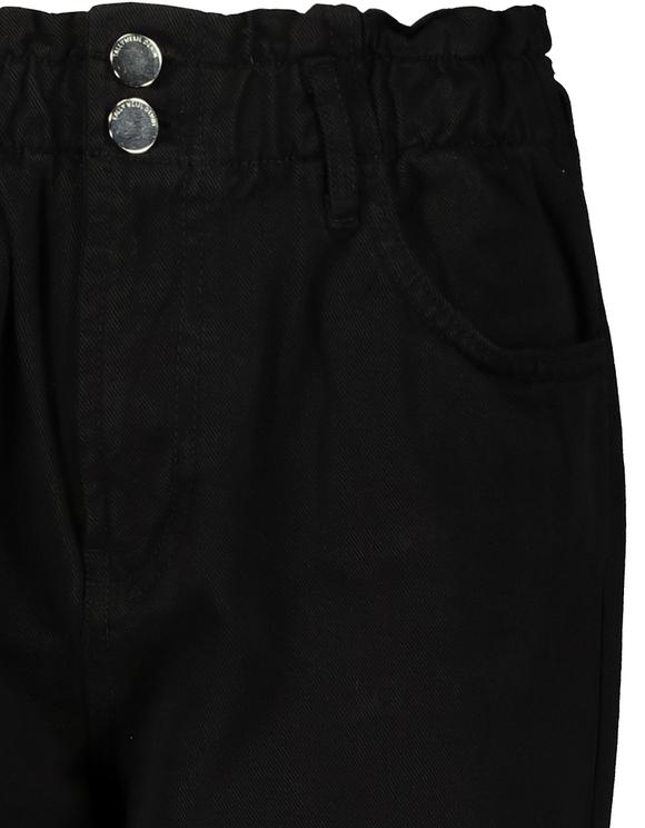 Pantalon Taille Haute Froncée