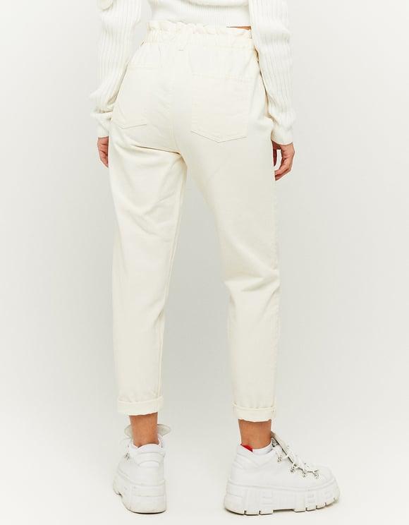 Jeans a Vita Alta Paperbag