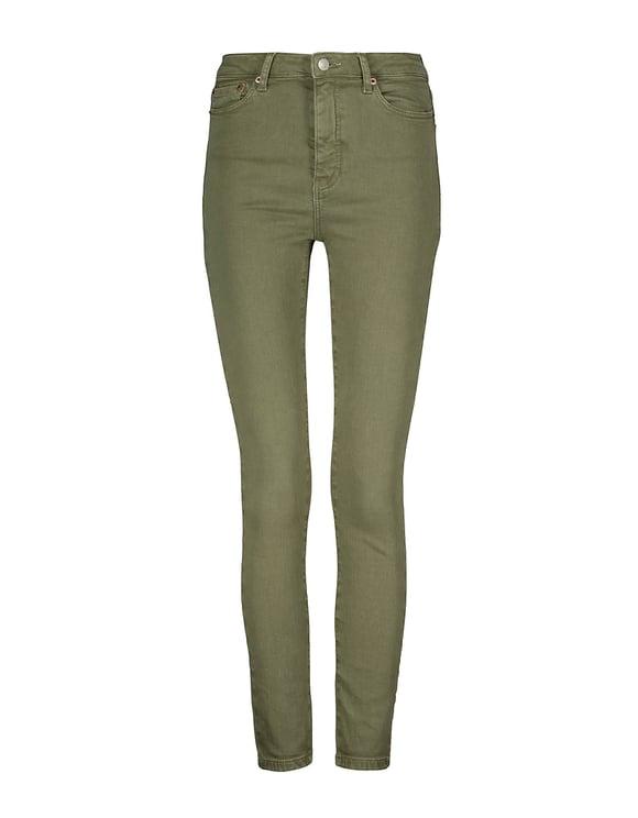 Olive High Waist Skinny Pants