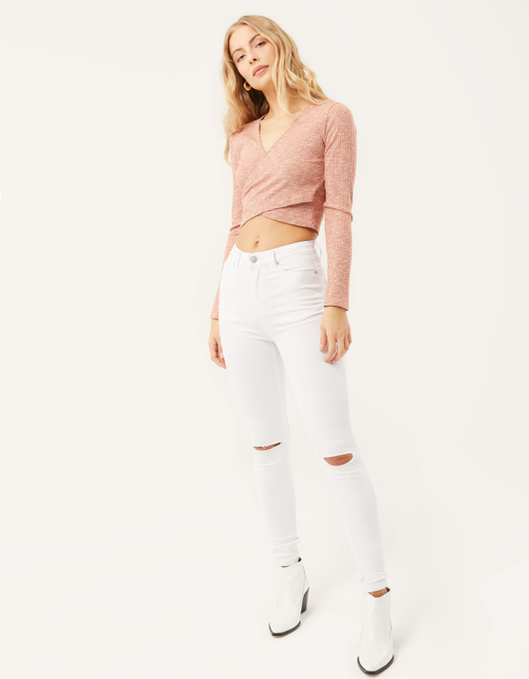 Smart Shape High Waist Skinny Jeans