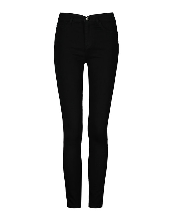 High Waist V Cut Waistband Trousers
