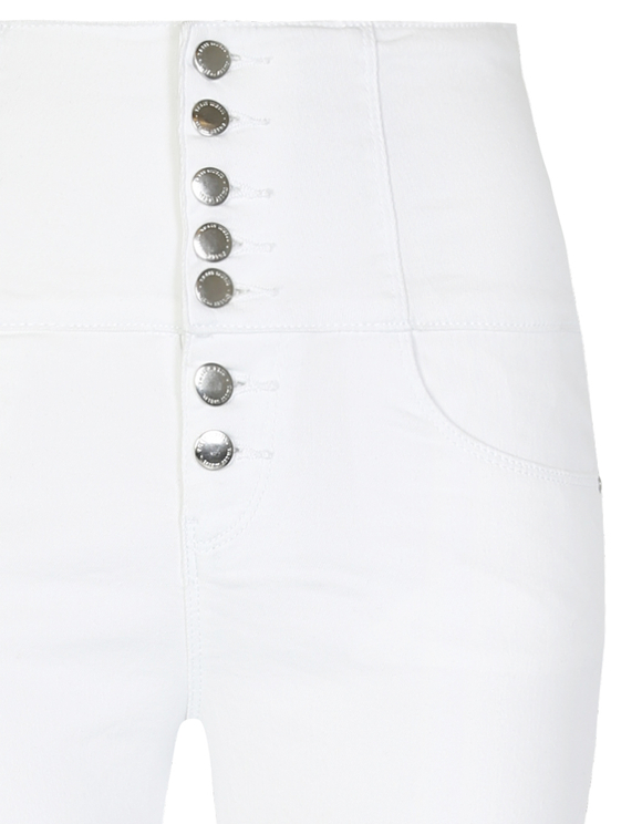 Pantaloni Skinny Vita Molto Alta