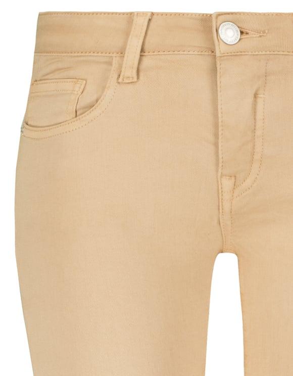 Beige Capri Trousers