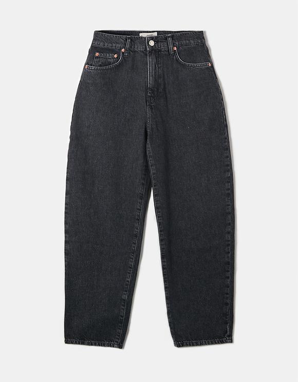 Black High Waist Baloon Jeans