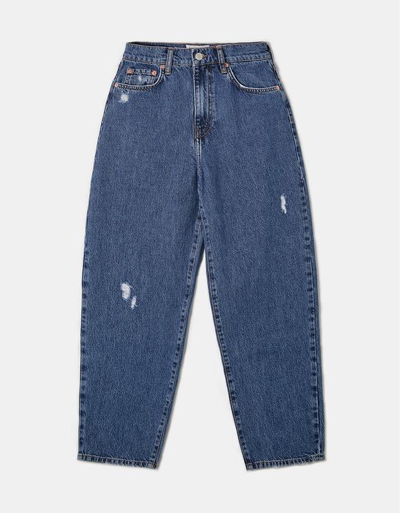 High Waist Baloon Jeans