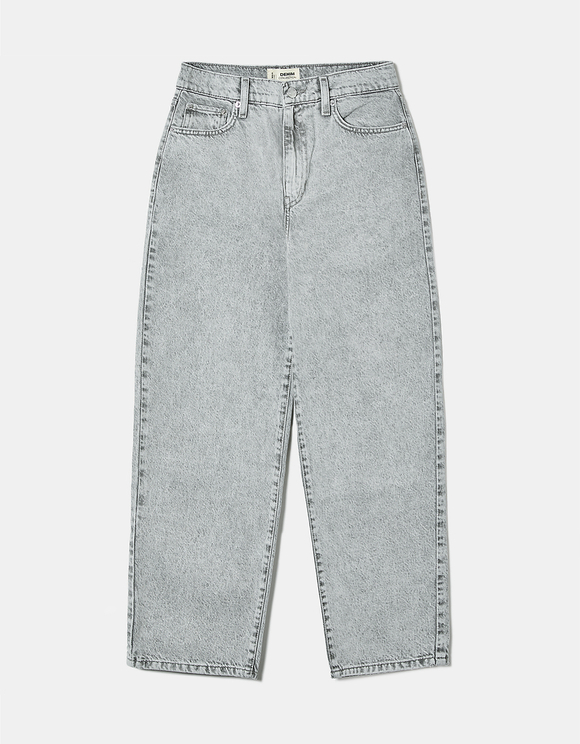 High Waist Balloon Jeans