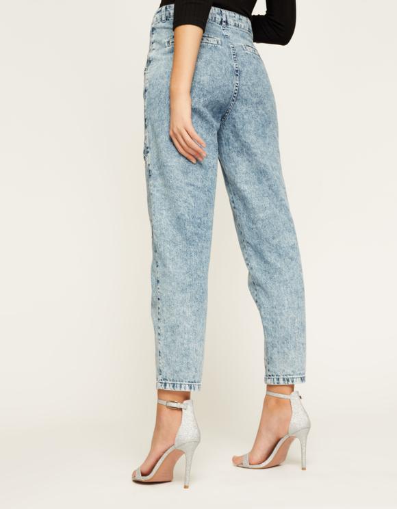 Mom Loose Jeans mit Taschen