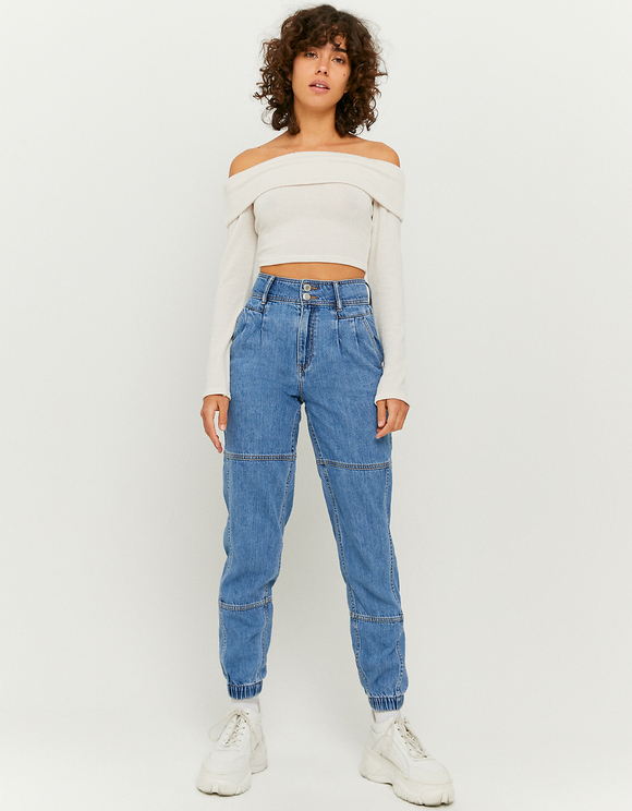 Slouchy Fit Jogger Jeans