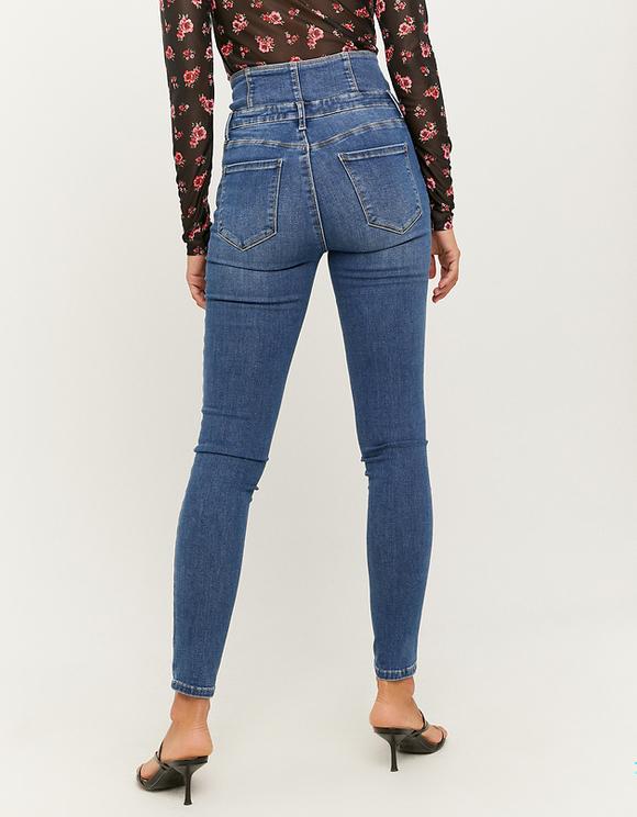 Jean Skinny Taille Haute Corset