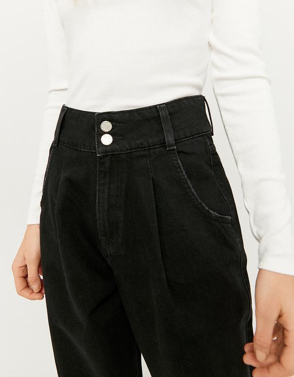 Jeans Slouchy a Vita Alta