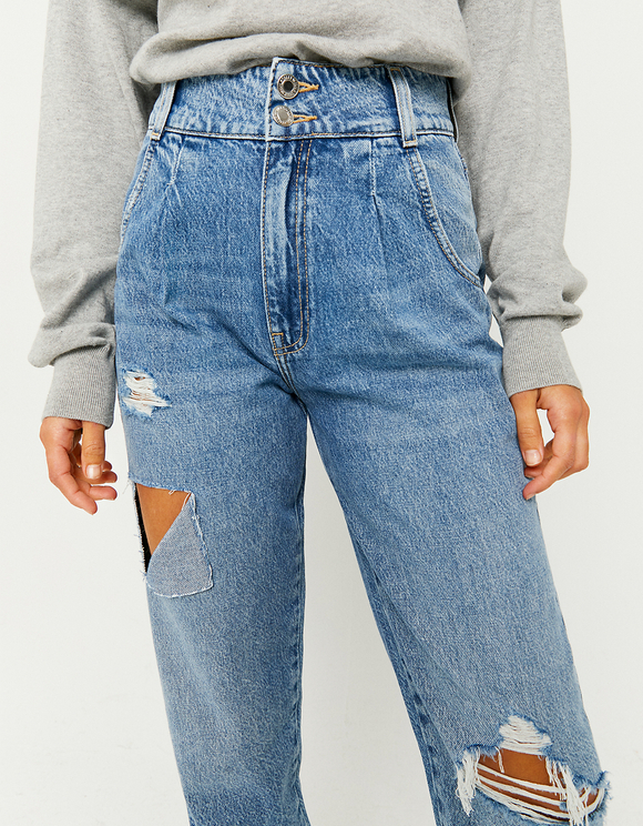 Jean Taille Haute Slouchy