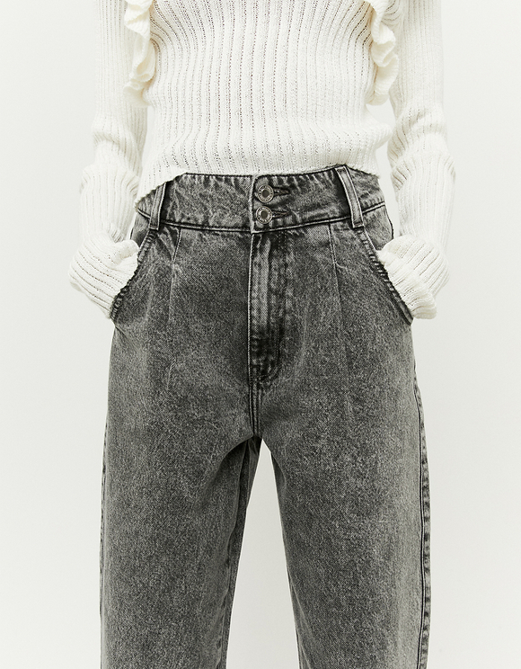 Jean Slouchy Taille Haute