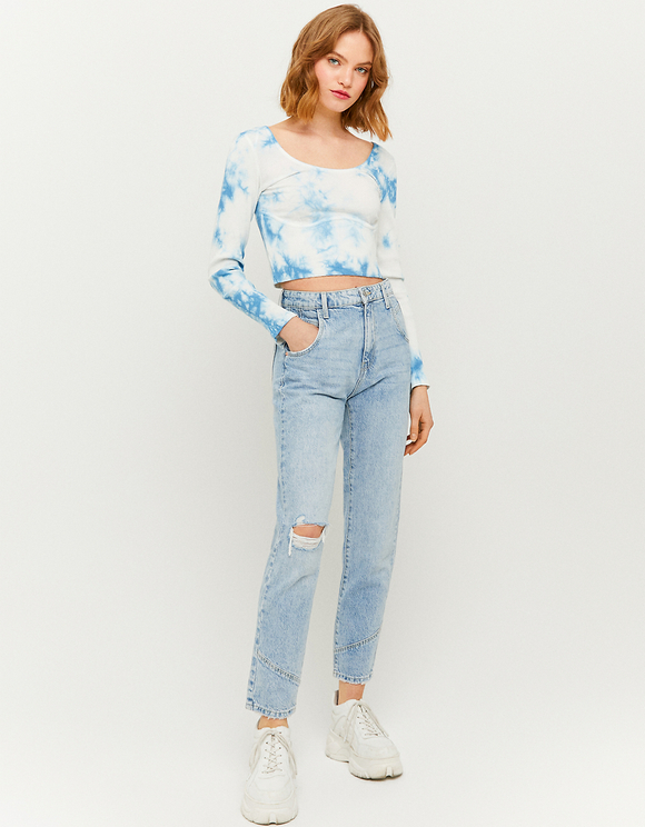 Loose Fit Mom Jeans