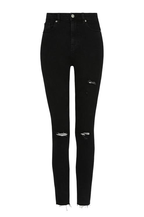 Jean Skinny 7/8ème Taille Haute
