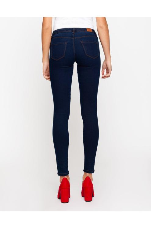 Dunkelblaue Skinny-Jeans