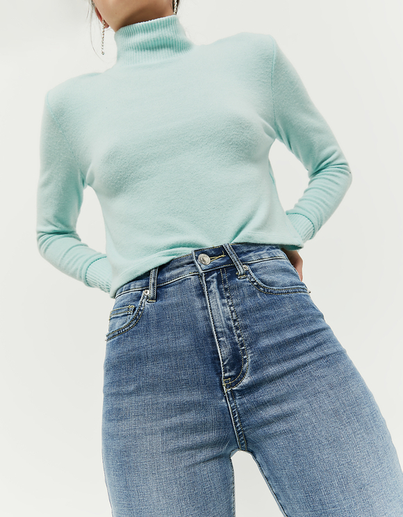 Very High Waist Skinny Jeans