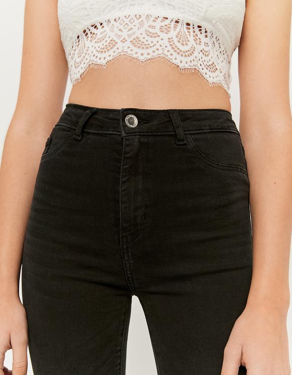 High Waist Skinny Flare Jeans
