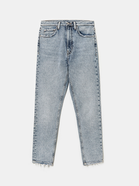 High Rise Straight Jeans