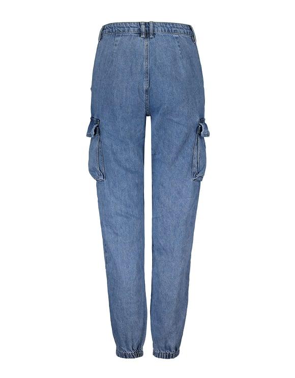 Jean Cargo Taille Haute