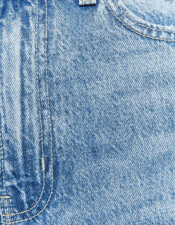 Jeans Mom Strappati a Vita Alta